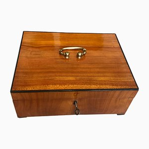 Biedermeier Cherry Box, 1820s