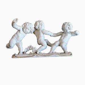 Figura representando el inicio de la primavera Art Déco de porcelana de Karl Tutter para Hutschenreuther