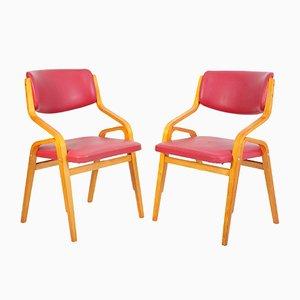 Chaises d'Appoint par Ludvik Volak, 1970s, Set de 2