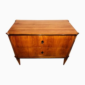 Small Biedermeier Cherry Veneer Commode, 1820s