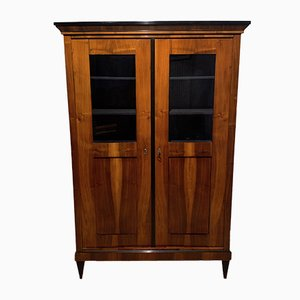 Antique Biedermeier German Display Cabinet