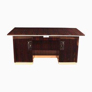 Bauhaus Schreibtisch aus Makassar-Ebenholz von Bruno Paul, 1920er