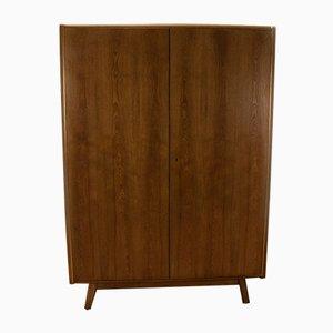 Vintage Kleiderschrank aus Eschenholz von Bohumil Landsman für Jitona, 1960er