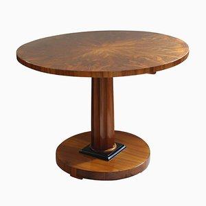 Biedermeier Walnut Table, 1820s