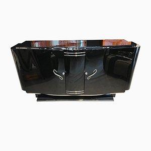 Aparador Art Déco con compartimento bar desplegable, años 30