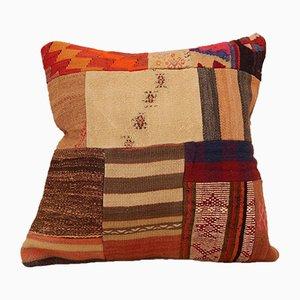 Housse de Coussin Kilim Patchwork de Vintage Pillow Store Contemporary