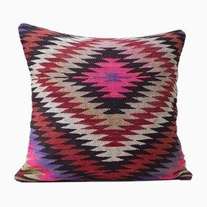 Federa Kilim rosa di Vintage Pillow Store Contemporary