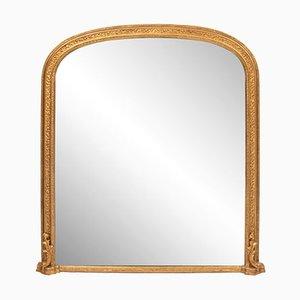 Specchio antico dorato, Regno Unito, metà XIX secolo