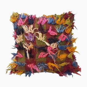 Federa Flokati rosa fatta a mano di Vintage Pillow Store Contemporary