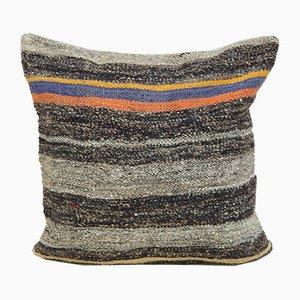 Französischer Kelim Kissenbezug mit Stammesdruck von Vintage Pillow Store Contemporary