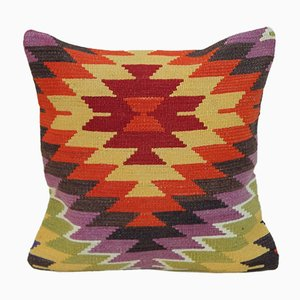 Anatolian Wool Kilim Pilow Cover from Vintage Pillow Store Contemporary