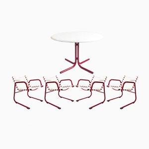 Juego de mesa y sillas de jardín de Kettal, años 70
