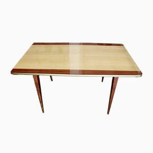 Mid-Century Two-Tone Dining Table, 1950s