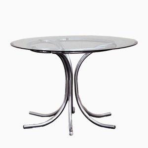 Italienischer Mid-Century Tisch mit Stahlgestell, 1960er