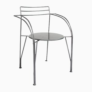 Silver Moon Chairs by Pascal Mourgue for Fermob, 1980s, Set of 4