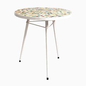 Tavolino da caffè Mid-Century con mosaico