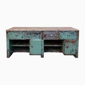 Große Vintage Werkbank