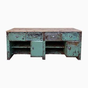 Large Vintage Workbench