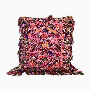 Pink & Lamé Folktales Cushion from House of Ita