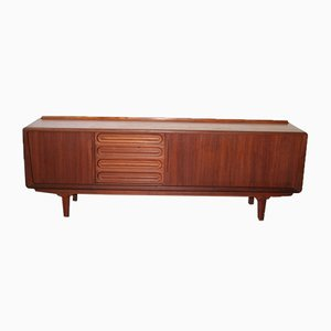 Danish Teak Scandinavian Sideboard by Arne Vodder for Vamo Sonderborg, 1960s