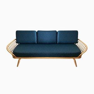 Vintage Studio Sofa mit hellem Holzgestell von Lucian Ercolani für Ercol