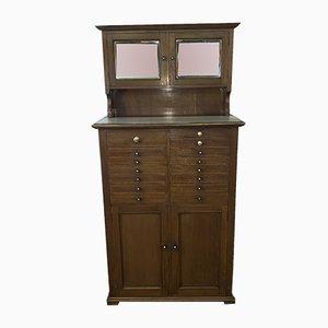 Mueble de dentista eduardiano antiguo de caoba de Premier Cabinet Company of Sedburgh