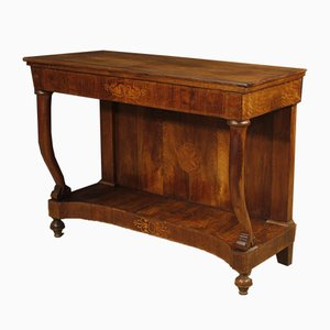 Vintage Italian Inlaid Console Table