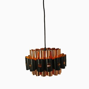 Vintage Danish Pendant Light by Werner Schou for Coronell Electro, 1970s