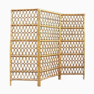 Vintage Bamboo Screen, 1970s