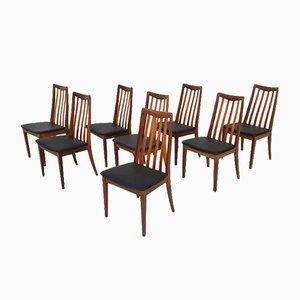 Britische Esszimmerstühle von Leslie Dandy für G-Plan, 1960er, 8er Set