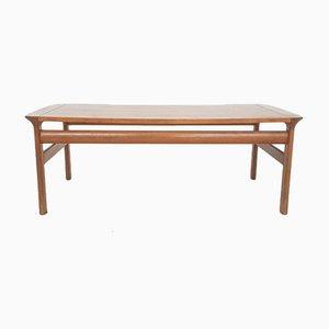Grande Table Basse en Teck par Sven Ellekaer pour Komfort, Danemark, 1960s