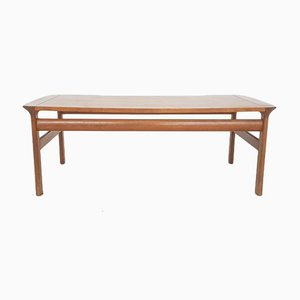 Large Danish Teak Coffee Table by Sven Ellekaer for Komfort, 1960s