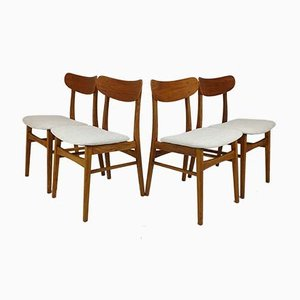 Mid-Century Teak Dining Chairs from Farstrup Møbler, 1960s, Set of 4