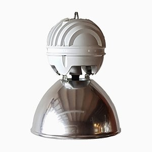 Lámpara colgante industrial de Holophane, años 80