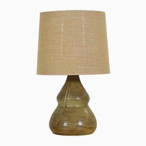 Lámpara de mesa de cerámica de Kamo, años 60