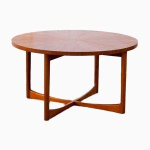 Tavolino da caffè vintage rotondo di McIntosh