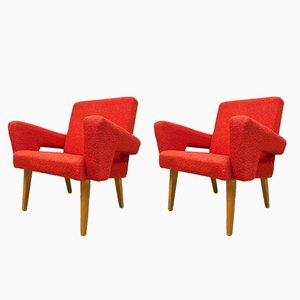 Vintage Czech Armchairs from Tatra, Set of 2