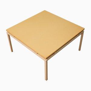 Mesa de centro vintage de hierro y madera