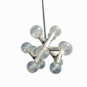 Vintage Space Age Atomic Chandelier from Kalmar Franken KG