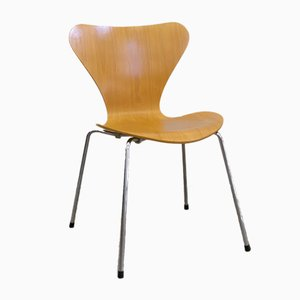 Sedia da pranzo della serie 7 di Arne Jacobsen per Fritz Hansen, 1989