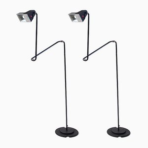 Floor Lamps by Guillermo Capdevila for Belux, 1981, Set of 2