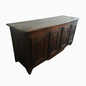 Antique French 4-Door Credenza