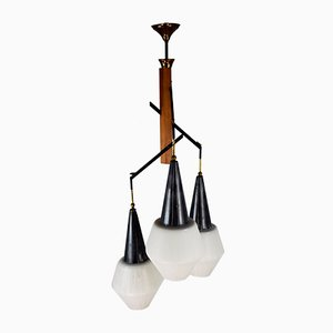 Mid-Century Italian Ceiling Lamp from Stilnovo, 1950s