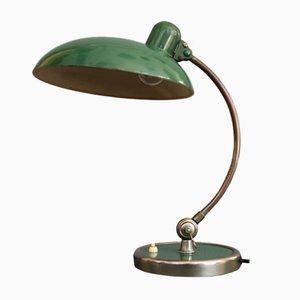 Lampada da tavolo nr. 6631 vintage verde di Christian Dell per Kaiser Idell