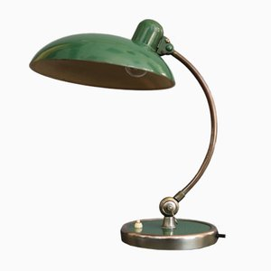 Vintage Model 6631 Green Table Lamp by Christian Dell for Kaiser Idell