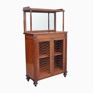 Mueble de caoba, década de 1840
