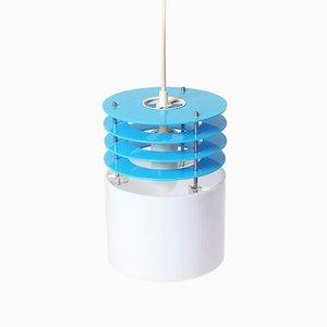 Lámpara de techo con anillos de metacrilato, años 70