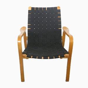 Moderne skandinavische Sessel mit Gestell aus Buche von Yngve Ekström für Swedese, 1950er, 2er Set
