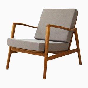 Grauer Vintage Sessel von Hartmut Lohmeyer, 1960er