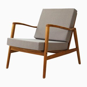 Vintage Grey Easy Chair by Hartmut Lohmeyer, 1960s